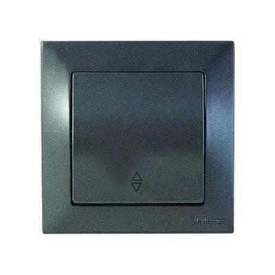 Девиаторен ключ тъмно сив с.х.6 - Candela