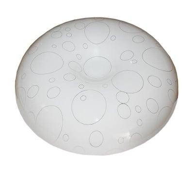 Декоративна LED плафониера 12W неутрална светлина