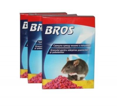 Гранули срещу мишки и плъхове - Bros