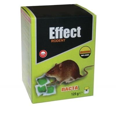 Паста примамка срещу мишки 125 гр. - Effect Rodent