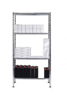 Метален стелаж за леки товари 147 х 75 х 30 см.