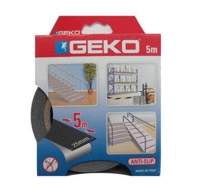 Противоплъзгаща самозалепваща лента черна 5 м.- GEKO