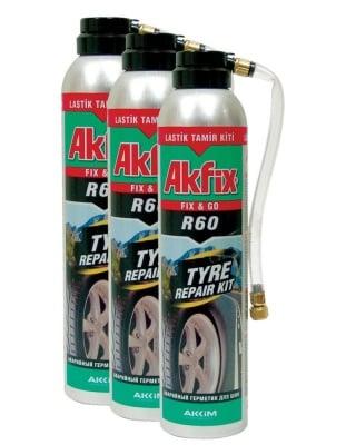Спрей KIT за лепене на гуми при авария - Akfix