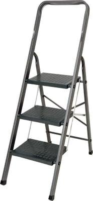 Домакинска стълба с PVC стъпала - 3