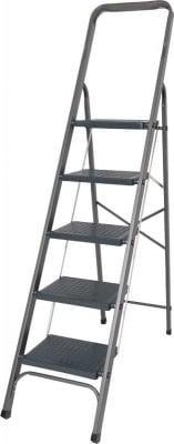 Домакинска стълба с PVC стъпала - 5