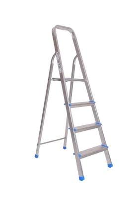 Домакинска стълба с платформа 3+1