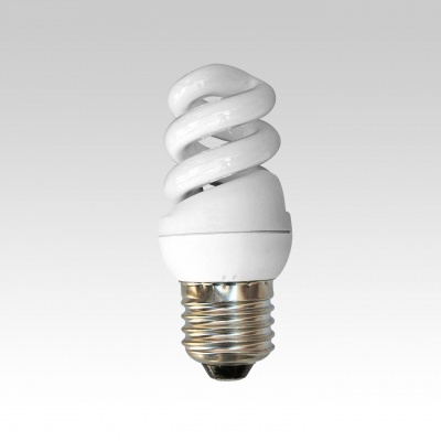 Енергоспестяваща лампа Mini Spiral 9 W E27 - Vivalu