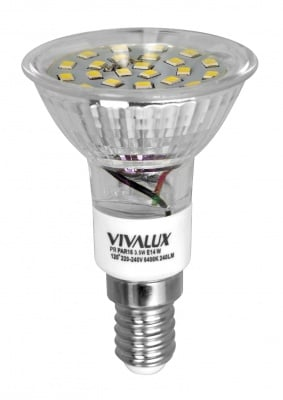 Диодна лампа Profiled 3.5 W E14 W 6400 K - Vivalux