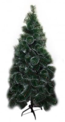 Коледна елха с бели връхчета - 180 см.