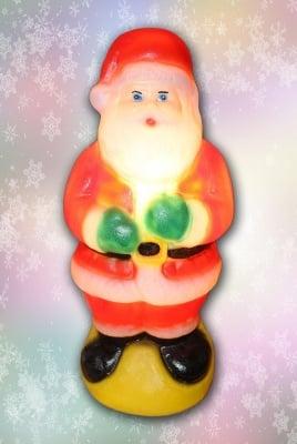 Светещ Дядо Коледа 38 см.