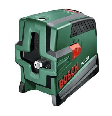 Лазерен нивелир с кръстосани линии PCL 20 Set - Bosch