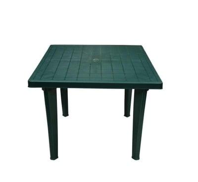 Градинска маса квадрат 90х90 см. зелена
