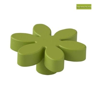 Мебелна дръжка цвете ярко зелен