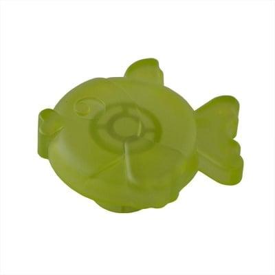 Мебелна дръжка рибка светло зелена