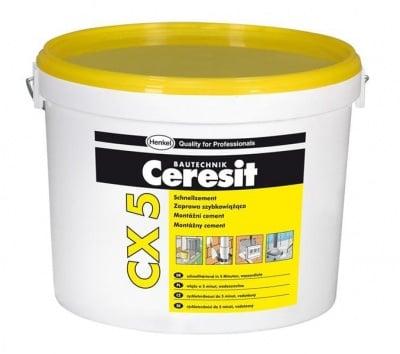 Бързосвързващ цимент 5 кг. CX5 - Ceresit
