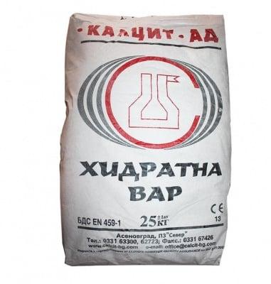 Хидратна вар - 12.5 кг.