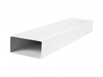 Въздуховод плосък 150 см. Vents PVC - бял