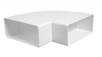 Коляно хоризонтално Vents PVC
