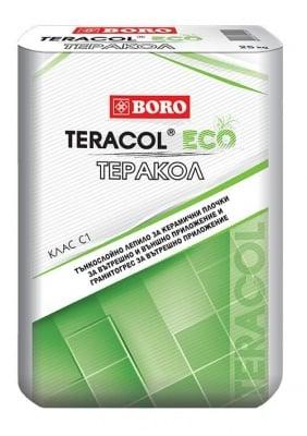 Лепило за плочки Боро Teracol Eco - 25 кг.
