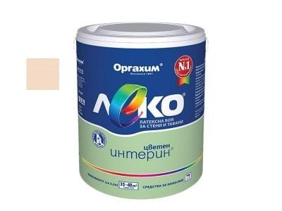 Цветен интерин Леко 2.5 кг. - праскова