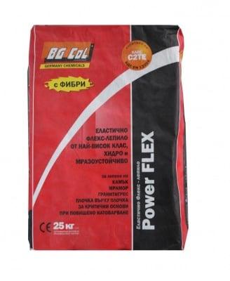 Лепило за плочки Power Flex 25 кг. - BG Col