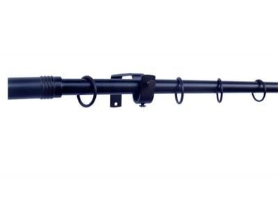 Метален корниз ф16/160 см. черен