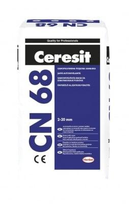 Саморазливна подова замазка CN 68 - Ceresit