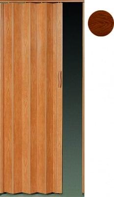 PVC врата тип Хармоника Accordion - тъмен дъб