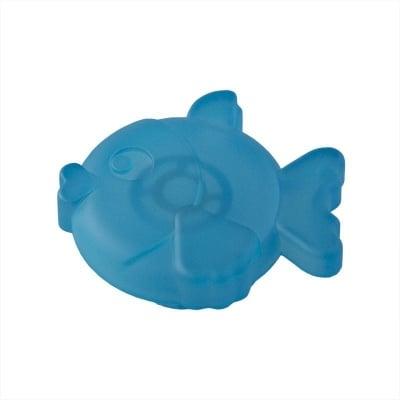 Мебелна дръжка рибка синьо зелена