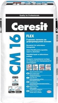 Гъвкаво лепило за деформируеми основи Ceresit CM 16