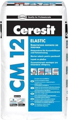 Еластично лепило за плочки Ceresit CM 12 Elastic
