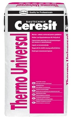 Лепило-шпакловка за топлоизолация Ceresit Thermo Universal - 25 кг.