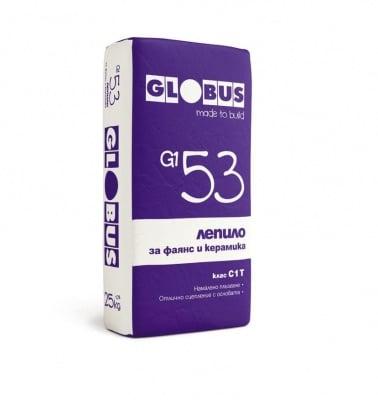 Лепило за фаянс и керамика G1 53 25 кг. - Globus