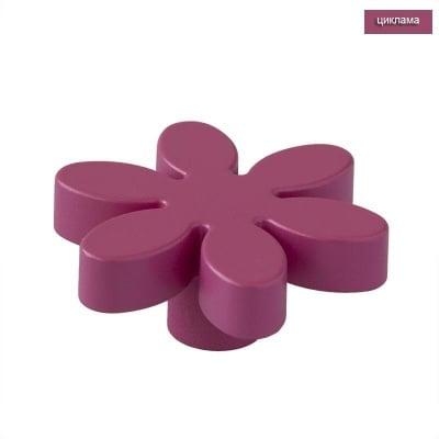 Мебелна дръжка цвете циклама