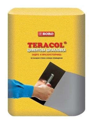 Циментова шпакловка сива Boro Теракол 25 кг.