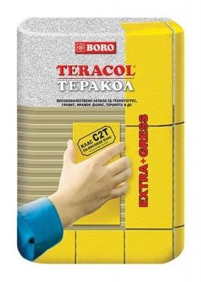 Лепило за гранитогрес 10 кг. клас: C2T - Boro