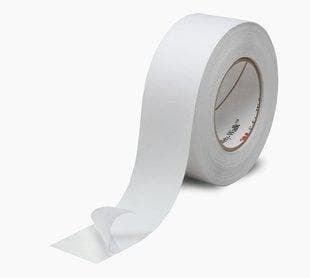 Противоплъзгаща самозалепваща лента бяла 5 м. MAGUS