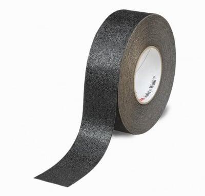 Противоплъзгаща самозалепваща лента черна 5 м. MAGUS