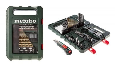 Комплект свредла и битове от 55 части - Metabo