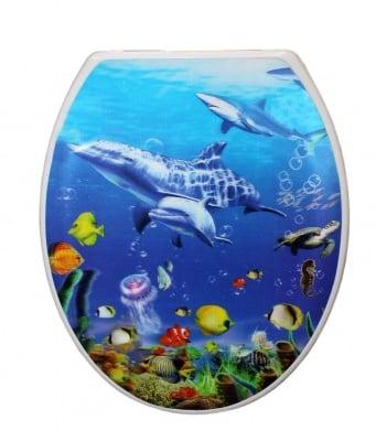Tоалетна седалка 770 3D ефект - Inter Ceramic