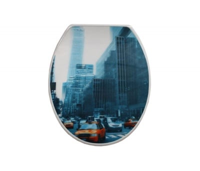 Tоалетна седалка 780 3D ефект - Inter Ceramic