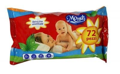 Мокри кърпи Mondi