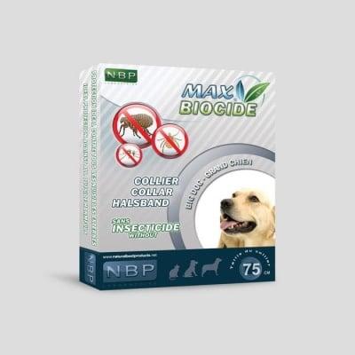Противопаразитна каишка за кучета 75 см. - Max Biocide NBP