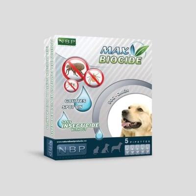 Противопаразитни капки за кучета 5х 1мл. - Max Biocide NBP