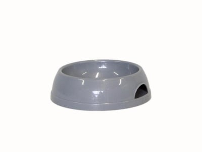 Пластмасова купа за домашни любимци 470 мл. сива