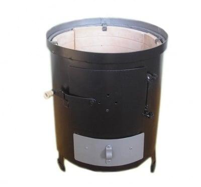 Печка за бойлер на твърдо гориво с тухли - Тусима-Т