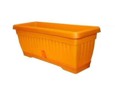 Саксия сандъче Оранжево - 27 см.