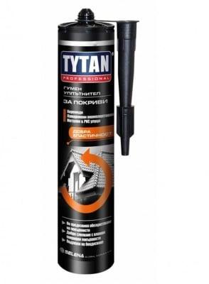 Каучуков уплътнител за покриви каучуков кафяв Tytan Professional