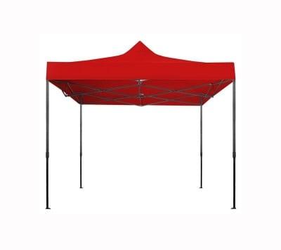 Сгъваема шатра 3 х 3 м. - червена