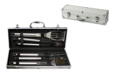 Комплект за барбекю 5 части - метален куфар